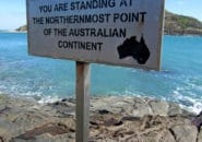 QLD_CapeYork_Northernmost Point Sign