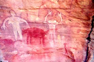 Rock Art on your Cape York tour