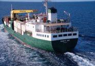 M.V. Trinity Bay at sea