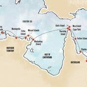 Cape York Arnhem Land Map